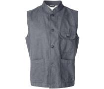 button-down waistcoat