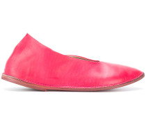 pointed ballerina shoes