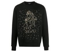 Pullover mit Sternzeichen-Print
