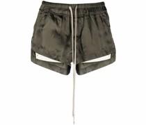 Schmale Shorts mit Kordelzug