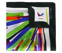 Einstecktuch mit Streifen-Prints