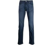 Gerade Slim-Fit-Jeans