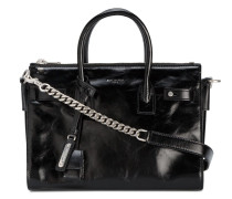 Small Black Leather Sac De Jour Bag