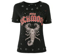 T-Shirt mit Nieten - women - Baumwolle - S