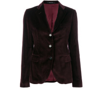 tri-button blazer