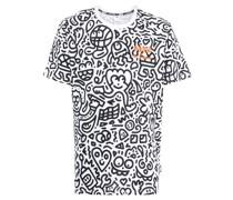 x Mr Doodle T-Shirt mit grafischem Print
