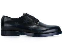 'Rockstud' Derby-Schuhe mit Sterne-Print