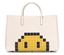 Großer 'Ebury' Shopper mit Pixel-Smiley