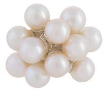 E.M. Sterlingsilberohrstecker mit Perlen