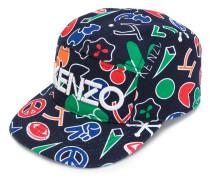 printed logo cap