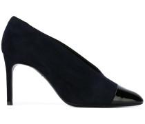 Pumps mit kontrastfarbiger Schuhspitze - women