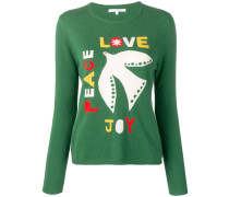 'Joy, Peace, Love' Pullover