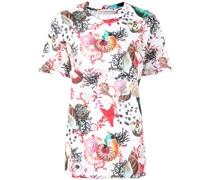 T-Shirt mit Meerestieren