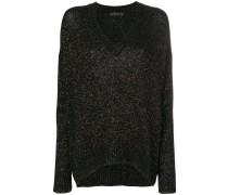 'Temba' Pullover mit V-Ausschnitt