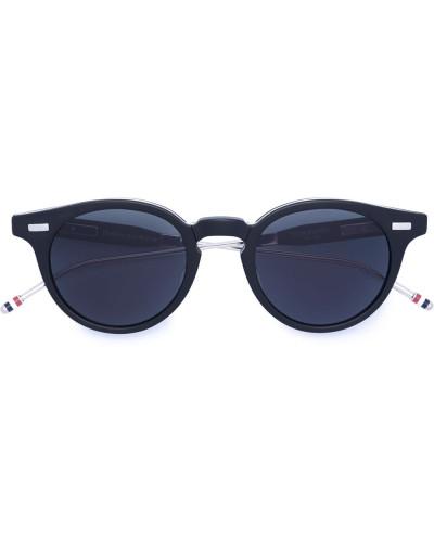 Faltbare Sonnenbrille mit rundem Gestell