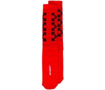 Socken mit Pfeil-Print