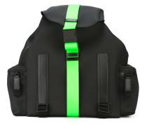 Rucksack mit kontrastfarbigem Streifen