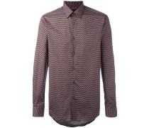 - Hemd mit geometrischem Print - men - Baumwolle