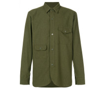 fitted military shirt