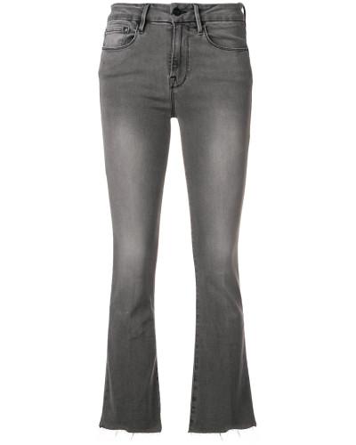 'Le Crop' Bootcut-Jeans