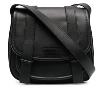small Courier leather messenger bag