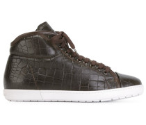 Strukturierte High-Top-Sneakers