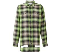 Kariertes Oversized-Hemd