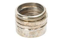 Texturiertes Ring Set