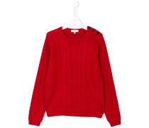 Teen aran knit sweater