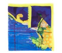 Schal mit Früchte-Print