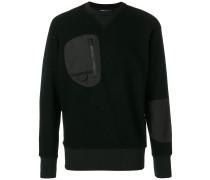 patch pocket sweatshirt