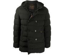 double-breasted padded jacket