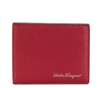 embossed bi-fold wallet
