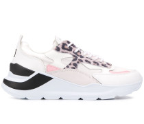 D.A.T.E. 'Fuga' Sneakers mit Glitter