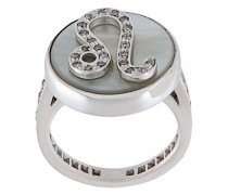 'Leo Lucky Zodiac' ring