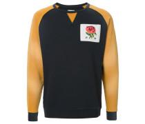 colour-block logo sweatshirt