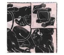 Garavani panther print scarf