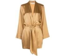 Minikleid im Kimono-Look