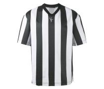 T-Shirt mit breiten Längsstreifen - men