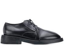 Derby-Schuhe mit runder Kappe