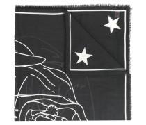 Schal mit Rottweiler-Print