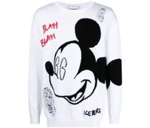 Pullover mit Micky-Maus-Print