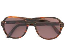 Gemusterte Sonnenbrille