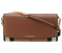 Portemonnaie mit abnehmbarem Schulterriemen