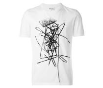 T-Shirt mit Kassette-Print