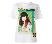 'Coninuous Interior' T-Shirt mit Print