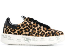 Sneakers mit Animal-Print