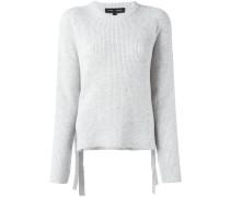 Pullover mit seitlichen Schleifenverschlüssen