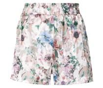 Geblümte Shorts