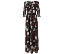 floral print ruffled dress